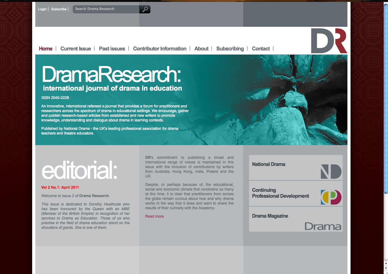 drama research paper Get an answer for 'what is a good thesis statement for a drama research paper about the play picnic by william ingeit must be about one aspect or element of the story, citing two secondary sources in support' and find homework help for other picnic questions at enotes.